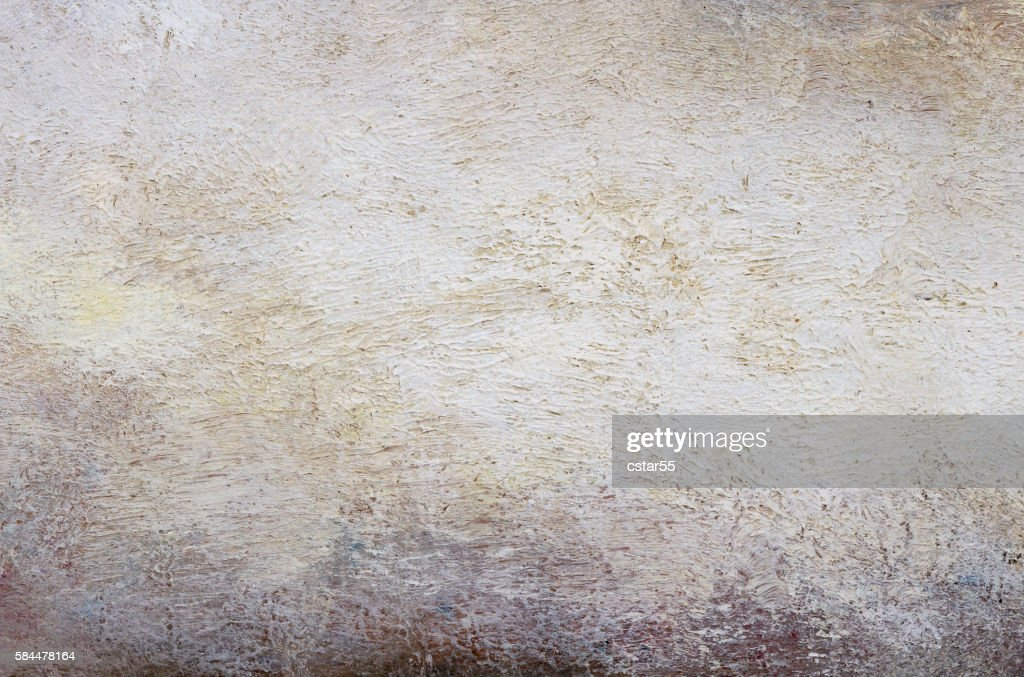 Painted White Gray Tan Grant Background With Brush Stroke Texture Stock Ilration