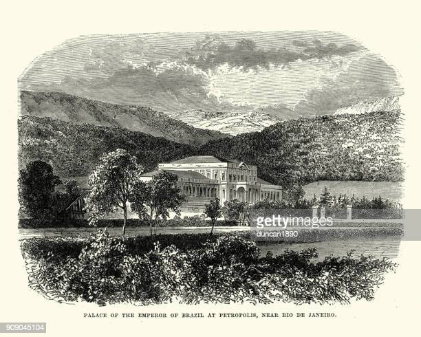 Palace of the Emperor of Brazil at Petropolis