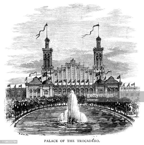Palace of the Trocadéro, Paris, France
