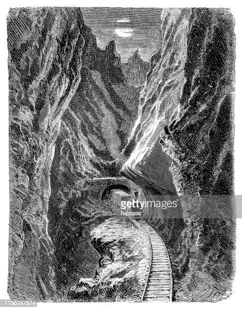 pancorbo pass, spain - en búsqueda stock illustrations