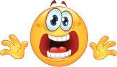 Panic emoticon