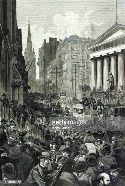 Panic on Wall Street, May 14, 1884