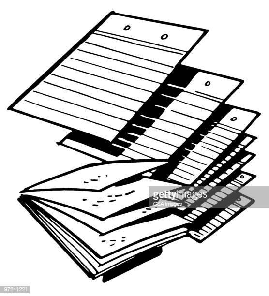 paper - report stock illustrations