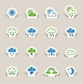 Papercut - Weather icons