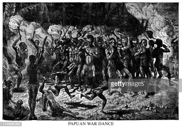 Papuan War Dance