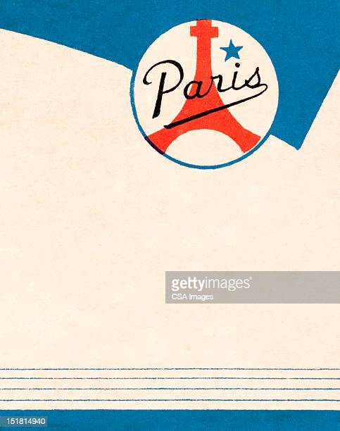 paris background - france stock illustrations
