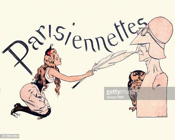 Parisiennettes Tickling the nose of the Establishment