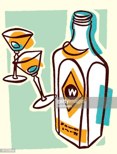 party scene - vodka drink stock illustrations, clip art, cartoons, & icons