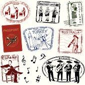 Passport by way of music