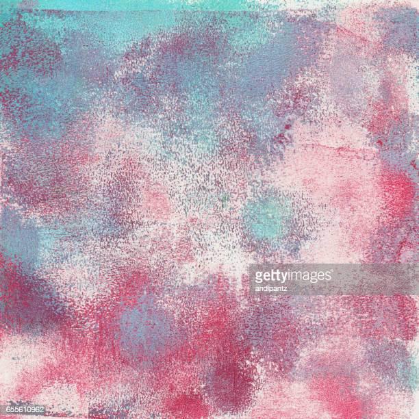 パステル カラーのブルーとピンクのテクスチャ背景