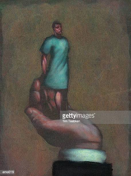 Patient in Palm of Hand
