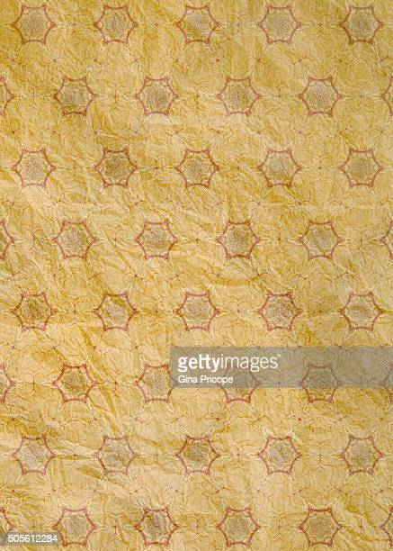 Pattern on a spotted page.