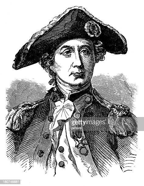 paul jones,us navy. - team captain stock illustrations