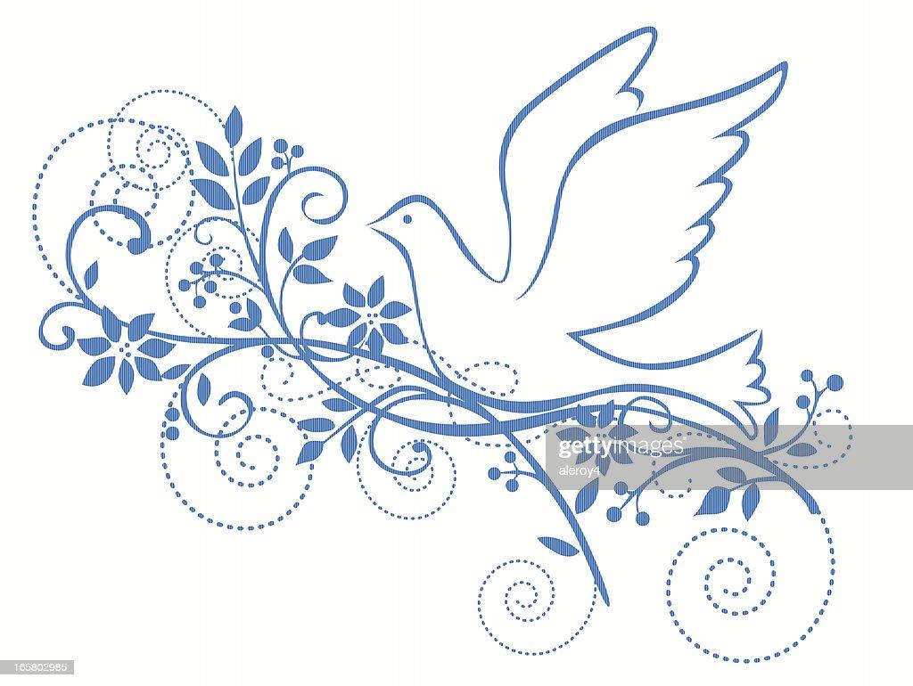 peace dove : Vector Art