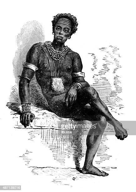 people and traditions of the world: african - ethiopia stock illustrations, clip art, cartoons, & icons