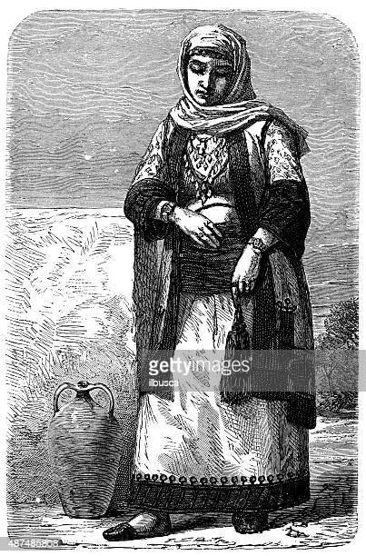 Persone e delle tradizioni del mondo: Albanese donna
