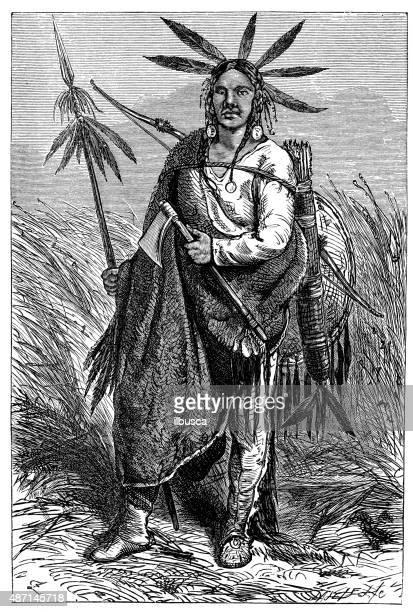 People and traditions of the World: Cheyenne Indian chief