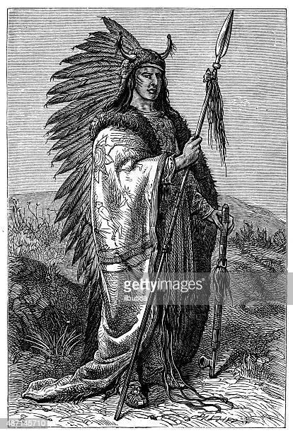 ilustraciones, imágenes clip art, dibujos animados e iconos de stock de las personas y las tradiciones de la región del mundo: indios sioux - indios americanos sioux
