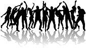 people of dancing