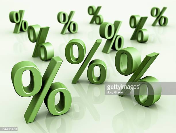 percentage symbols - percentage sign stock illustrations
