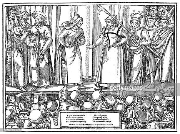 Performance of Farce in Parisian Theatre, 16th Century