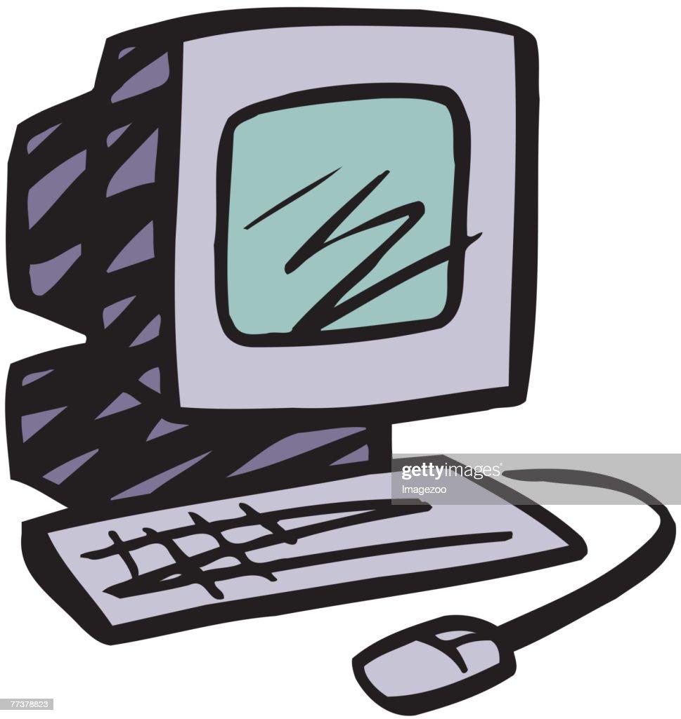 Personal Computer : Illustration