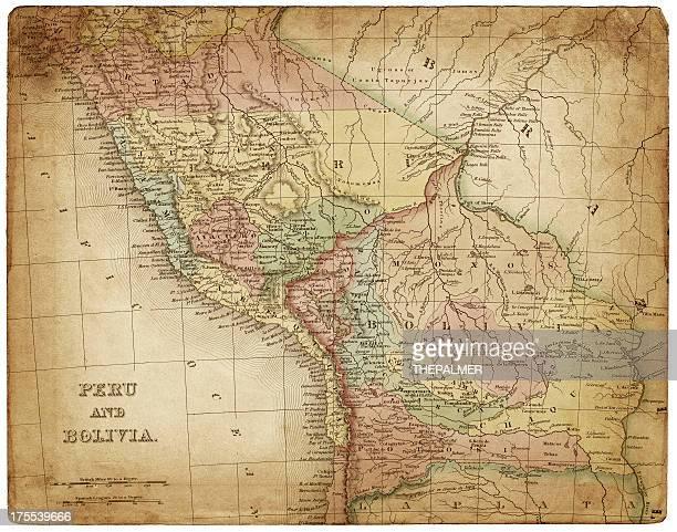 peru bolivia map 1836
