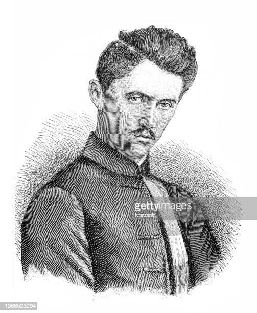 Petöfi, Sandor, 1.1.1823 - 31.6.1849, Hungarian author/writer, portrait, engraving, 19th century, birth name Alexander Petrovic
