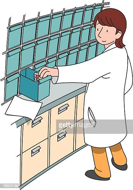 Pharmacist, Illustrative Technique
