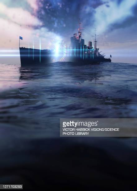philadelphia experiment, illustration - world war ii stock illustrations