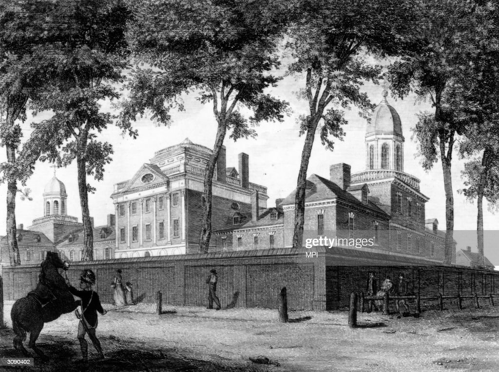 Philadelphia's Pennsylvania Hospital, founded in 1751, was the first