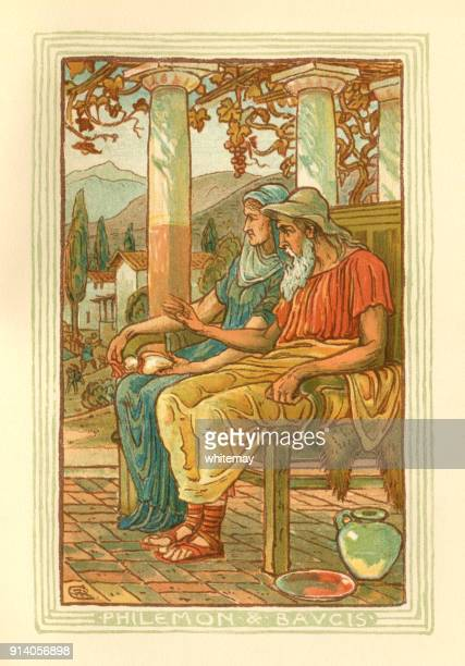 Philemon and Baucis - Greek mythology