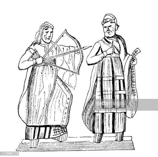 illustrations, cliparts, dessins animés et icônes de philoctetes et ulysse - ulysse