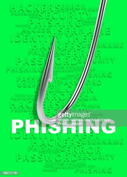 phishing concept, illustration - phishing stock illustrations