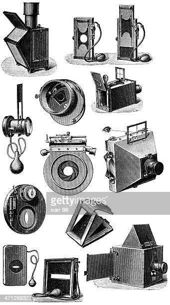 photo accessories - camera stand stock illustrations, clip art, cartoons, & icons