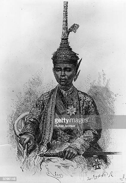 Phra Paramindr Maha Chulalongkorn king of Siam from 1868 at the time of his accession