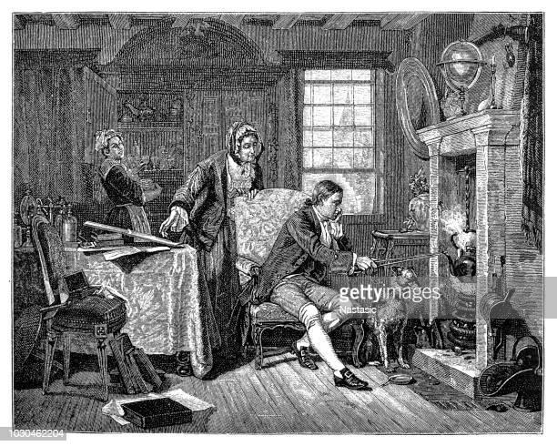 物理学者ジェームスのワット蒸気力 1882 を発見