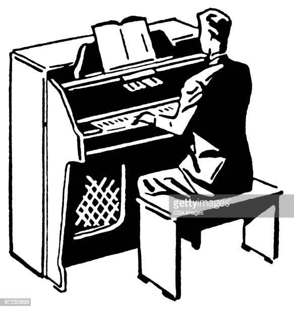 60 Top Church Organ Stock Illustrations, Clip art ...
