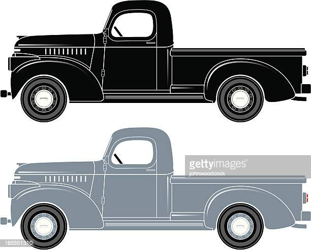 pick-up truck - us air force stock illustrations, clip art, cartoons, & icons