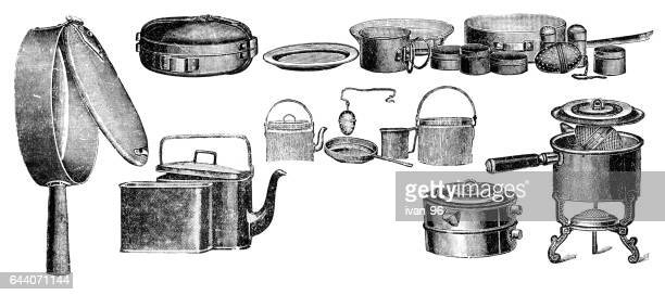 picnic box - boiler stock illustrations, clip art, cartoons, & icons