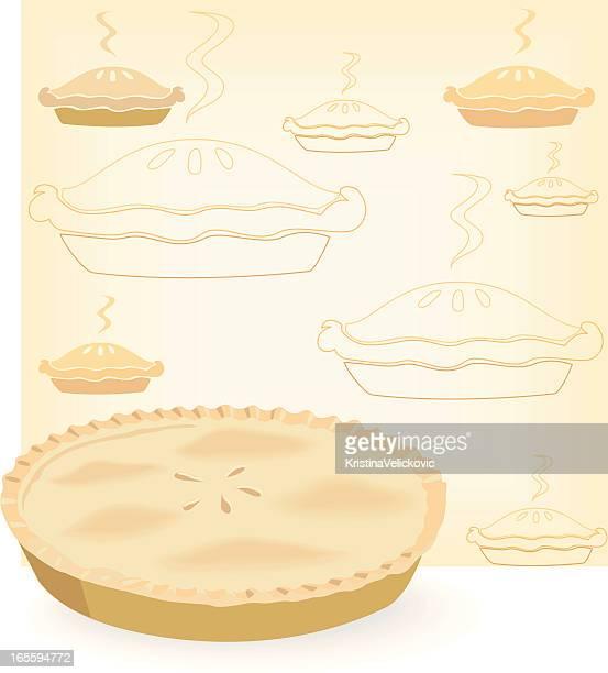 pie - meat pie stock illustrations