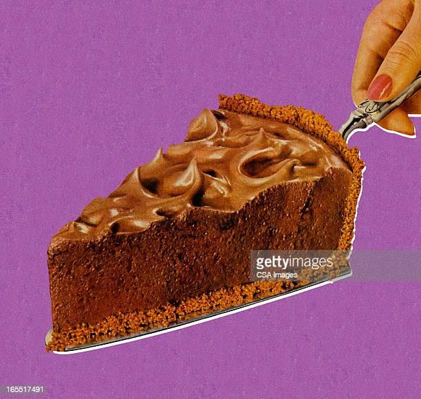 アイテムのチョコレートのパイ