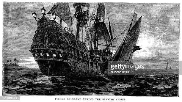 Pierre le Grand taking the Spanish Vessel