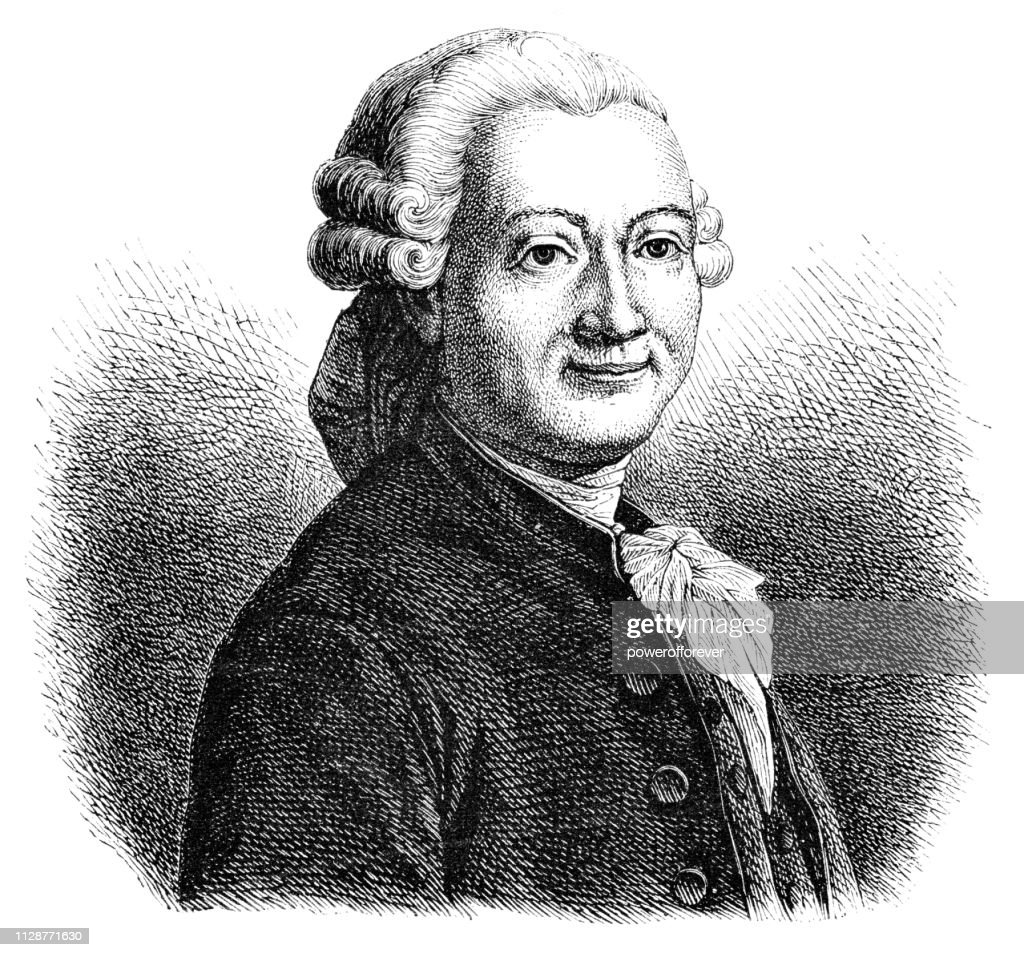 Pierre Poivre - 18th Century : Stock Illustration