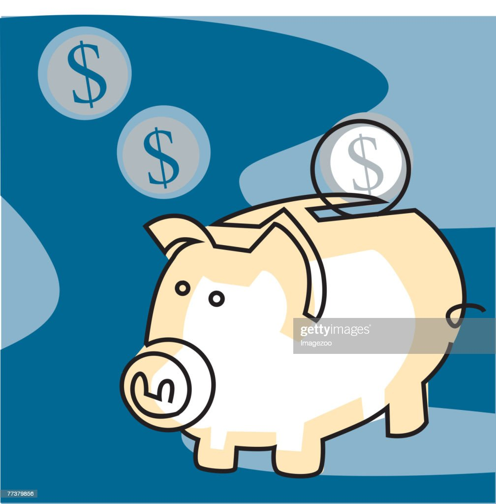 Piggy Bank : Illustration
