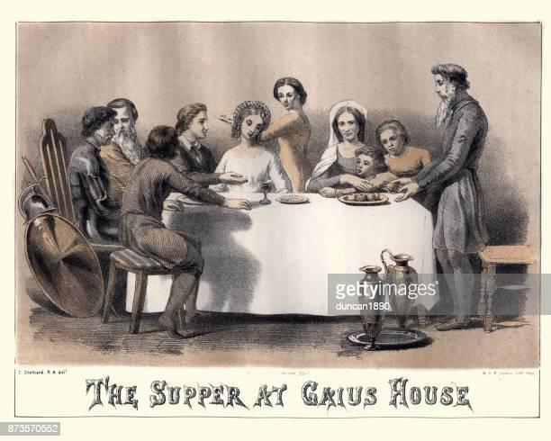 Pilgrim's Progress - The Supper at Gaius House