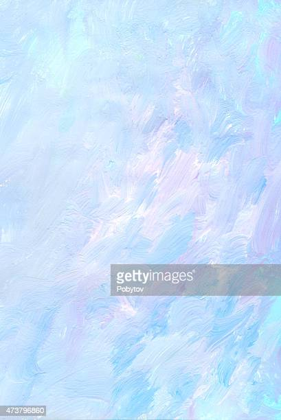 Pink blue painted art background