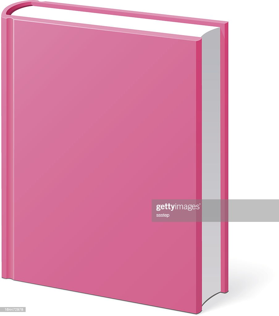 Pink Book Empty Cover