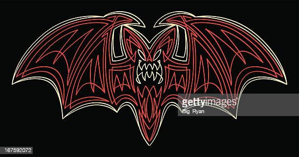 pinstriped bat