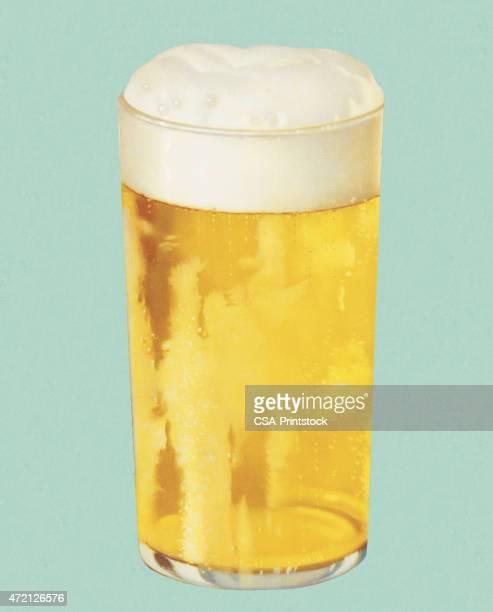 ilustrações de stock, clip art, desenhos animados e ícones de copo de cerveja - bebida alcoólica